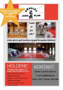 judo opstart hjemmeside